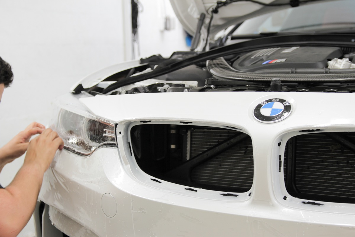 BMW-M3-Mineral-white-XPEL-Headlight-Protection-Film