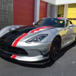 2016 Dodge Viper ACR XPEL Paint Protection Film Install Miami, Florida
