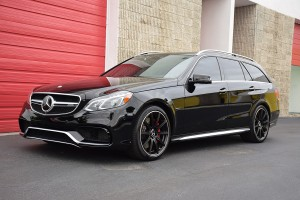 Mercedes E63 Wagon Black