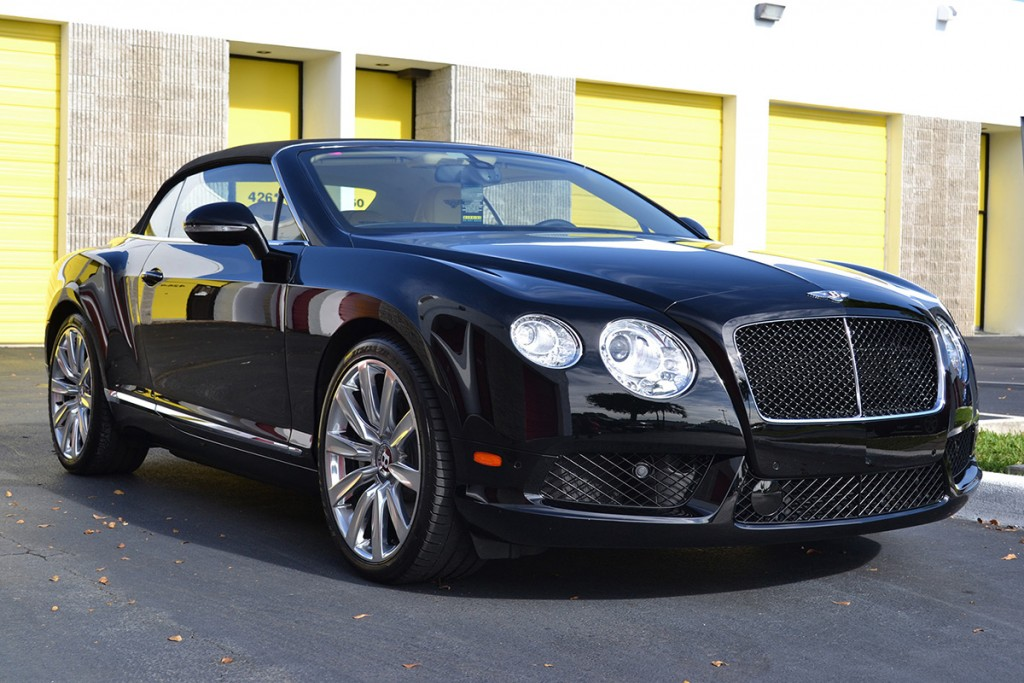 Black Bentley GT Convertible