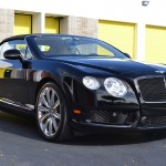 Black Bentley GT Convertible - CQuartz Paint Protection Miami