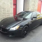 Maserati Quattroporte Q4 in Black