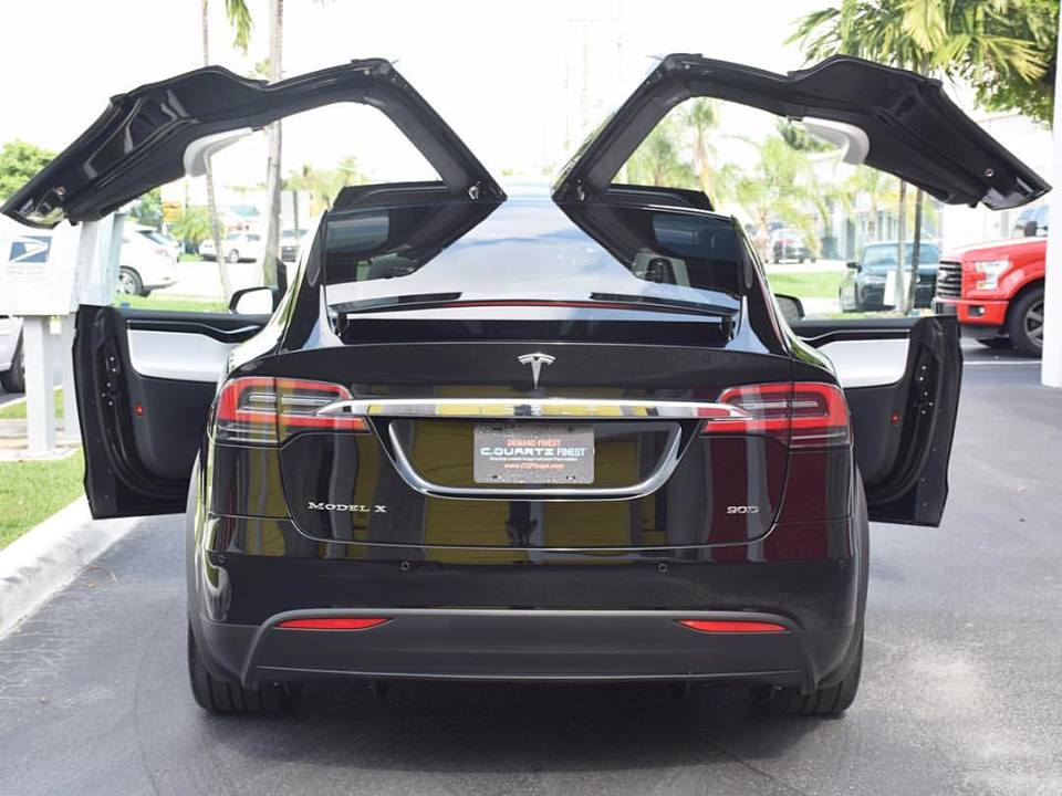 Tesla Model X Clear Bra Miami
