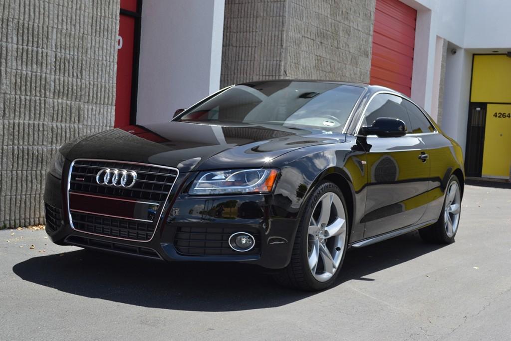 Black Audi A5