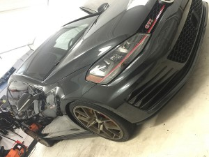 VW GTI Gunmetal Paint Protection