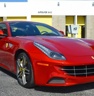 Ferrari FF CQuartz Finest and Paint Correction