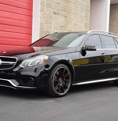 Mercedes E63 Wagon Black