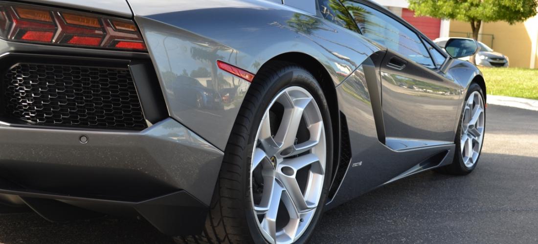 Lamborghini Aventador Lp700 Grigio Estoque Scheer Signature Detailing