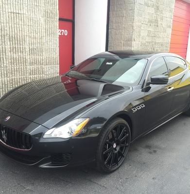 Maserati Quattroporte Q4 Black