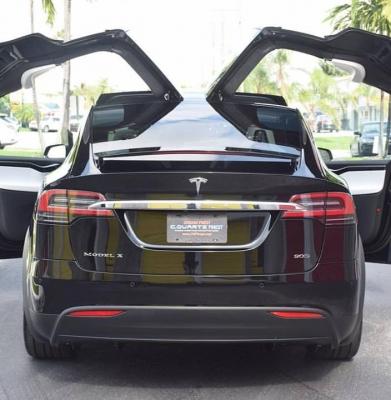 Tesla Model X Clear Bra Miami